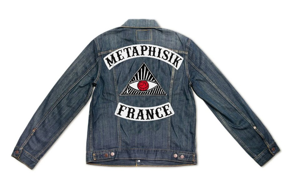 Image of André Saraiva x Shepard Fairey x Levi's Paris Denim Trucker Jackets