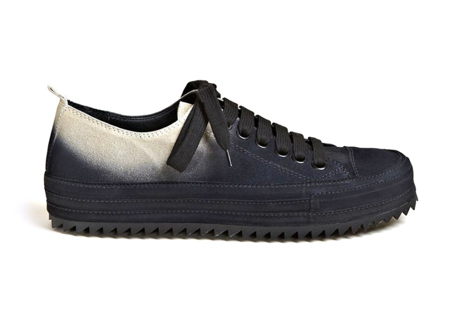 Image of Ann Demeulemeester 2012 Fall/Winter Scamosciato Two Tone Trainers