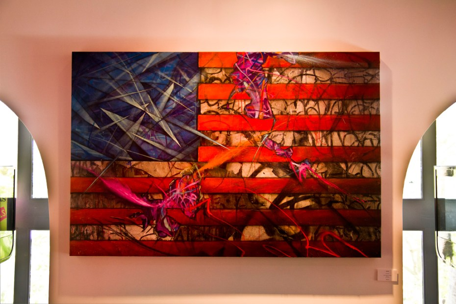 "Image of Arrested Motion ""City of Fire"" Exhibition @ Stephen Webster"