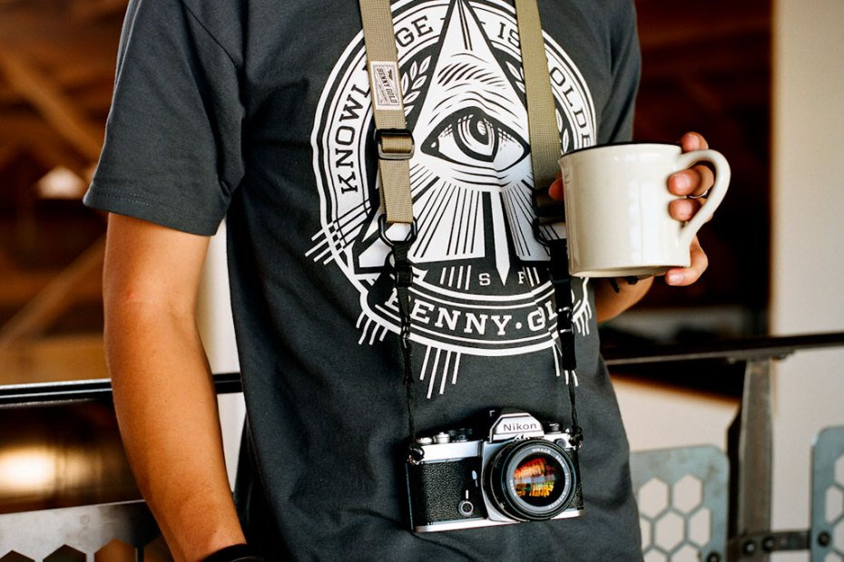 Image of Benny Gold x DSPTCH Camera Straps