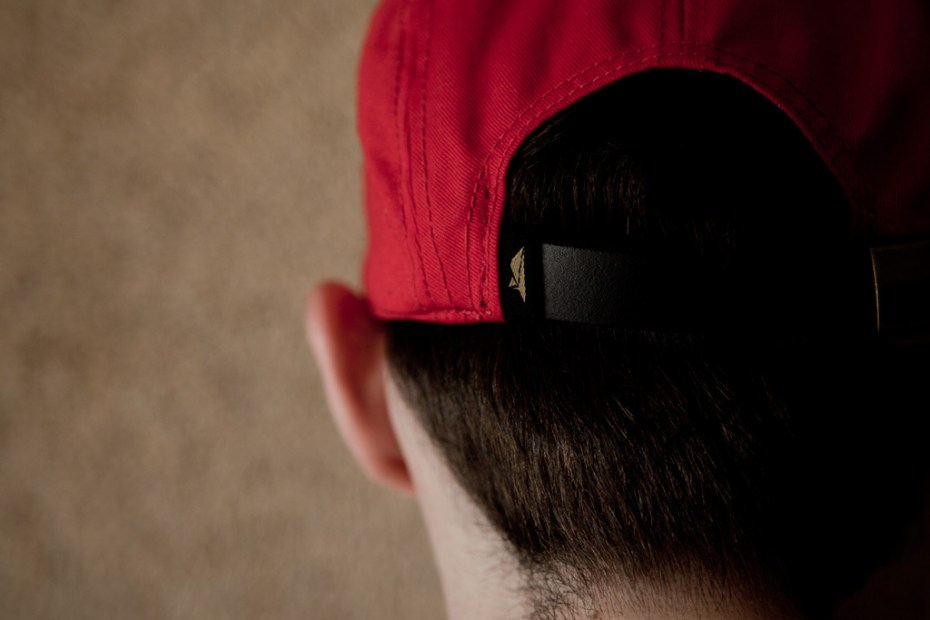 Image of Benny Gold The Native Red 5-Panel Cap