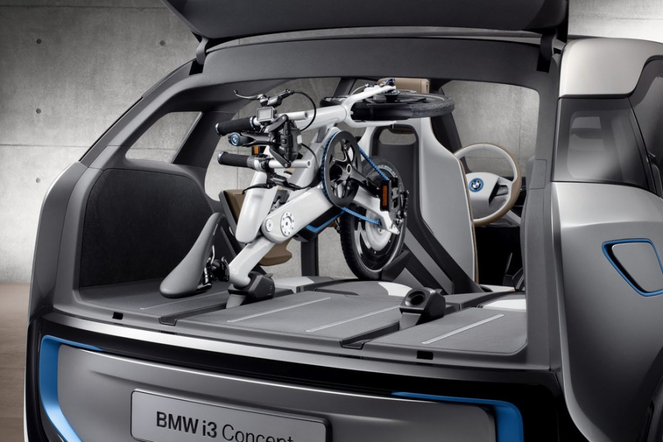 Image of BMW i Pedelec Foldable Electric Bicycle Made for the BMW i3 Electric Car
