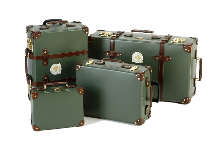 Image of British Services Antarctic Expedition x Globe-Trotter 2012 Capsule Collection