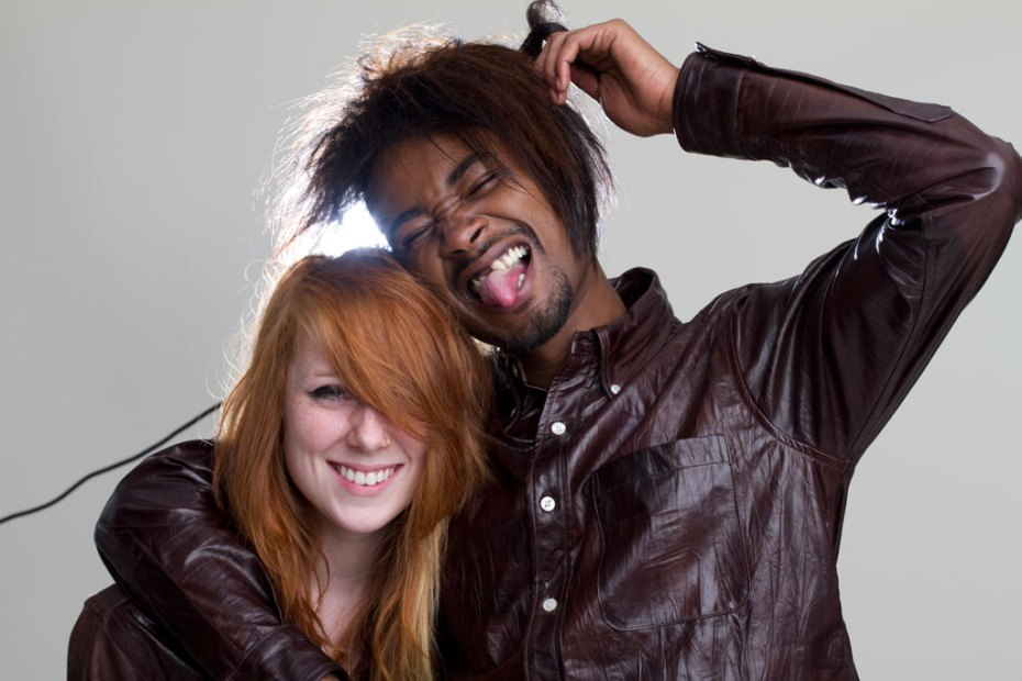 Image of Behind-the-Scenes with Danny Brown & Kitty Pryde for Mark McNairy 2013 Spring/Summer Lookbook