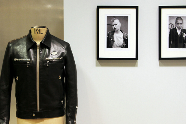 Image of Derek Ridgers x Bunney Selected Works @ Dover Street Market