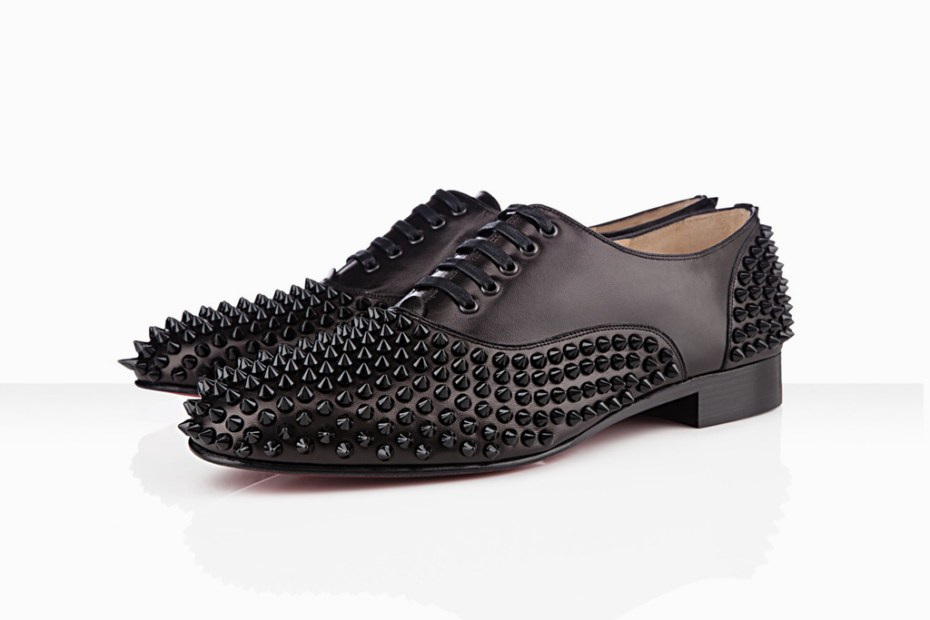 Image of Christian Louboutin 2012 Freddy Man Flat in Black