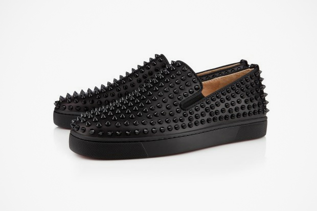 Image of Christian Louboutin 2012 Rollerboat Flat in Black