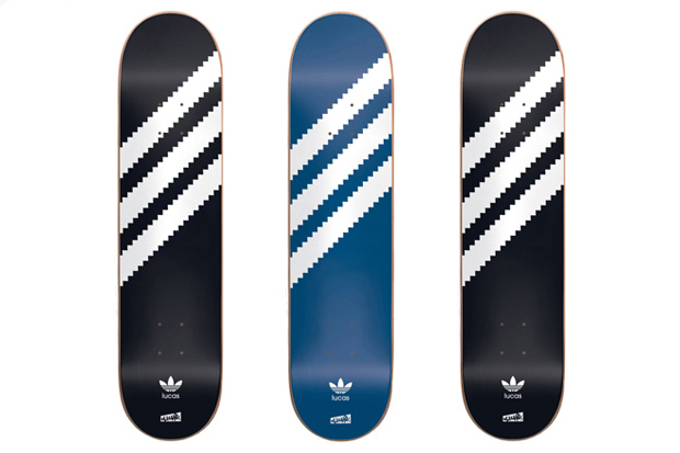 Image of Clich x adidas Skateboarding &quot;Lucas Original&quot; Skate Decks