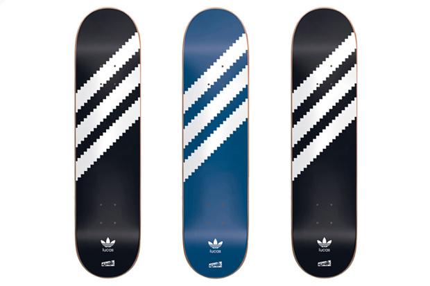 """Image of Cliché x adidas Skateboarding """"Lucas Original"""" Skate Decks"""