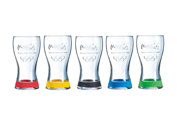 Image of Coca-Cola 5-Glass Olympic Box Set