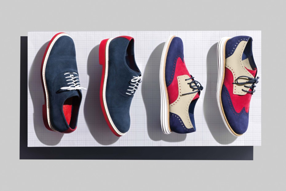 "Image of Cole Haan 2012 Spring/Summer LunarGrand Wingtip & Harrison Oxford ""Independence Day"""