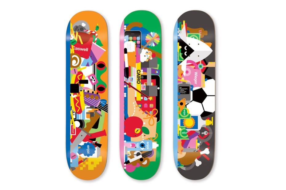 Image of Craig & Karl for Enjoi Skate Decks