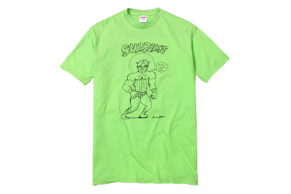 Image of Daniel Johnston x Supreme T-Shirt Capsule Collection