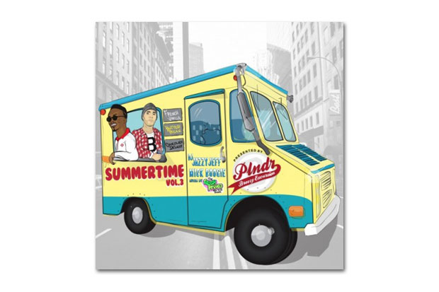 Image of DJ Jazzy Jeff & Mick Boogie – Summertime 3 | Mixtape