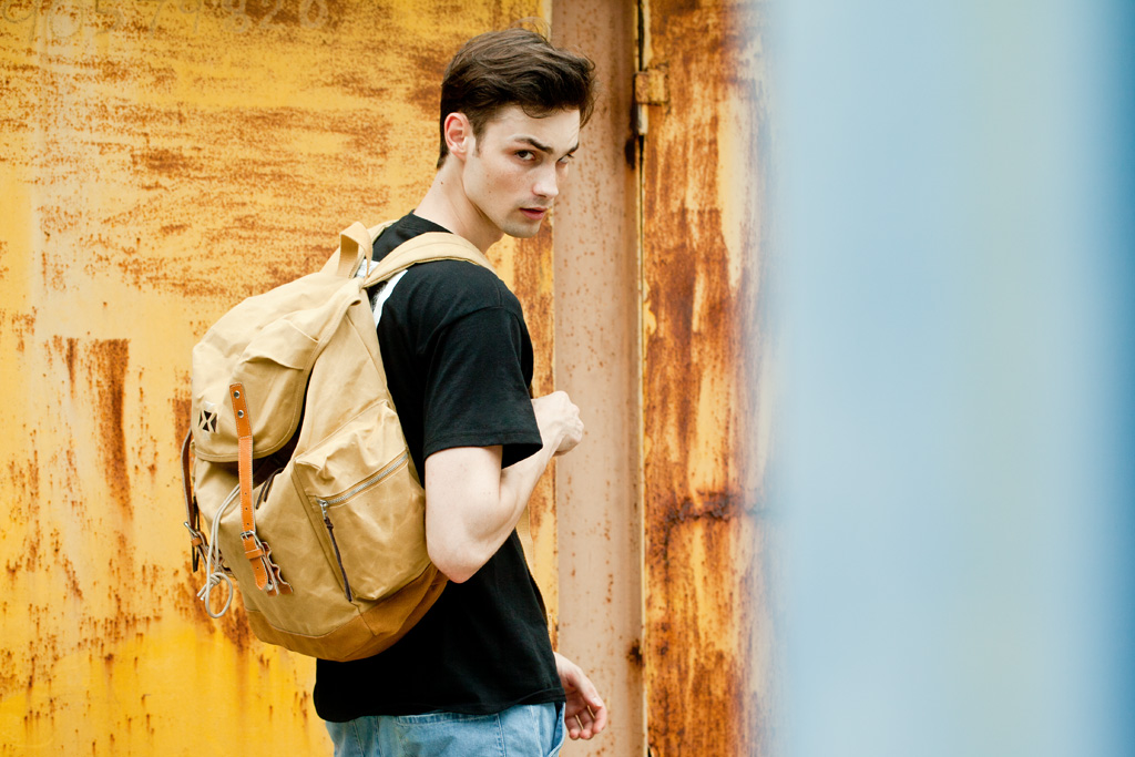 "Image of EASTPAK by WOOD WOOD 2012 Summer ""Desertion"" Collection"