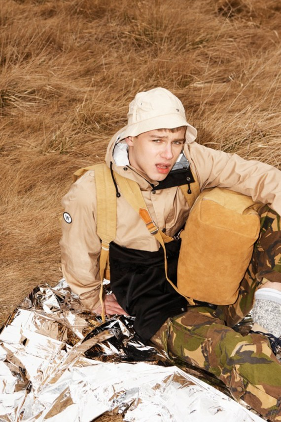 "Image of EASTPAK by WOOD WOOD 2012 Summer ""Desertion"" Lookbook"