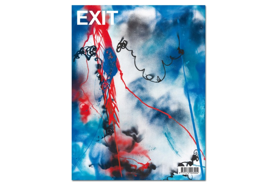 Image of Futura 2000 Covers the EXIT Magazine 2012 Spring/Summer Issue