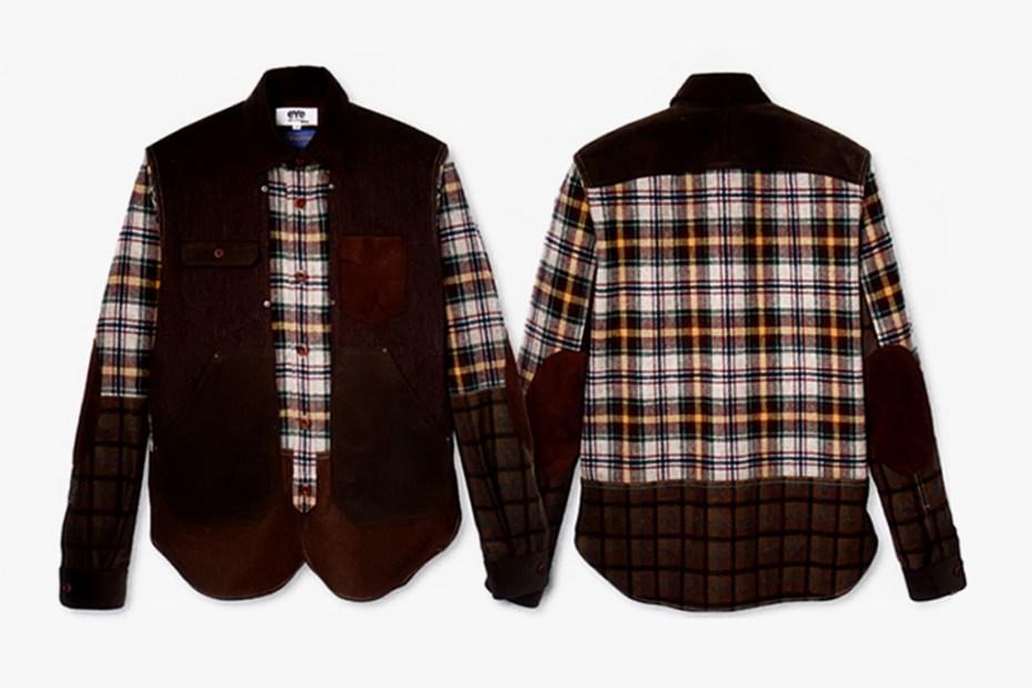 Image of eYe COMME des GARCONS JUNYA WATANABE MAN x Pendleton Logger Shirt