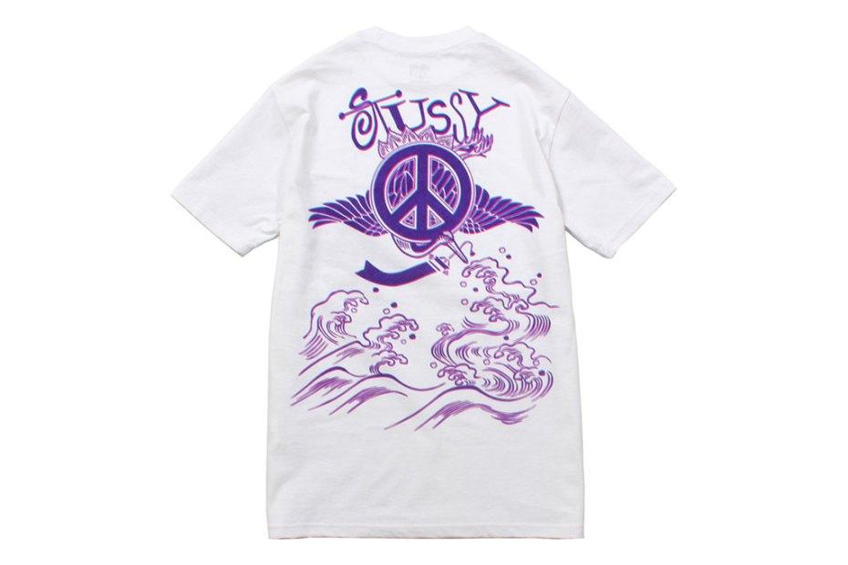 "Image of EYESCREAM x Stussy ""I SCREAM FOR TOKYO"" T-Shirts"