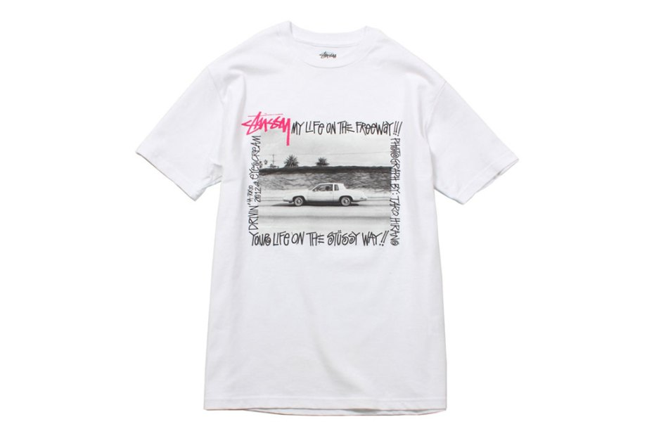 "Image of EYESCREAM x Stussy ""I SCREAM FOR TOKYO"" T-Shirts"