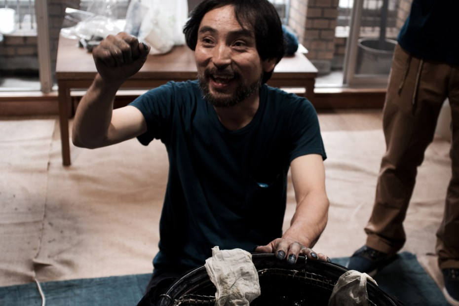 Image of F.I.L. Kyoto Natural Dyeing Process Demonstration and Workshop Recap