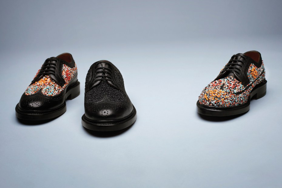 Image of Florsheim by Duckie Brown 2012 Fall/Winter Beaded Brogue Shoe