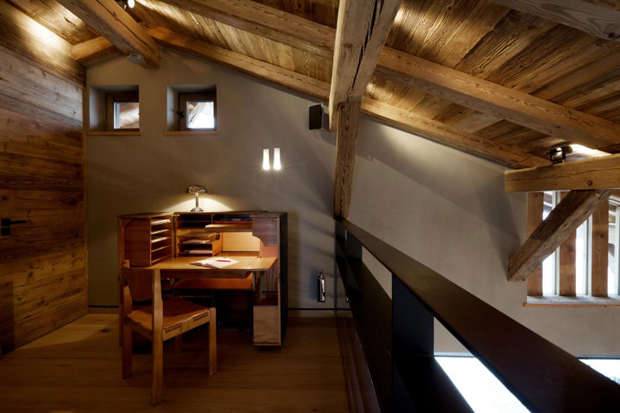 """Image of French Alps Mountain Cabin """"Chalet Cyanella"""" by Bo Design"""