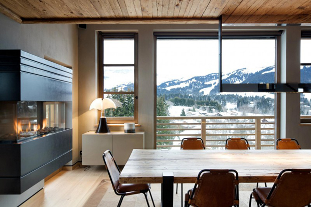 "Image of French Alps Mountain Cabin ""Chalet Cyanella"" by Bo Design"