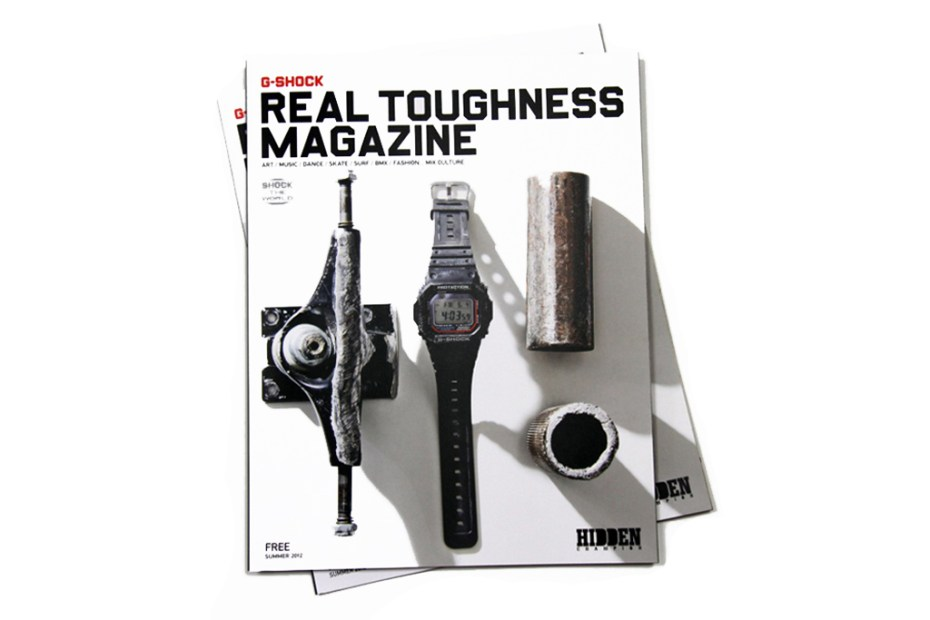 "Image of G-Shock x Hidden Champion "" REAL TOUGHNESS"" Issue"