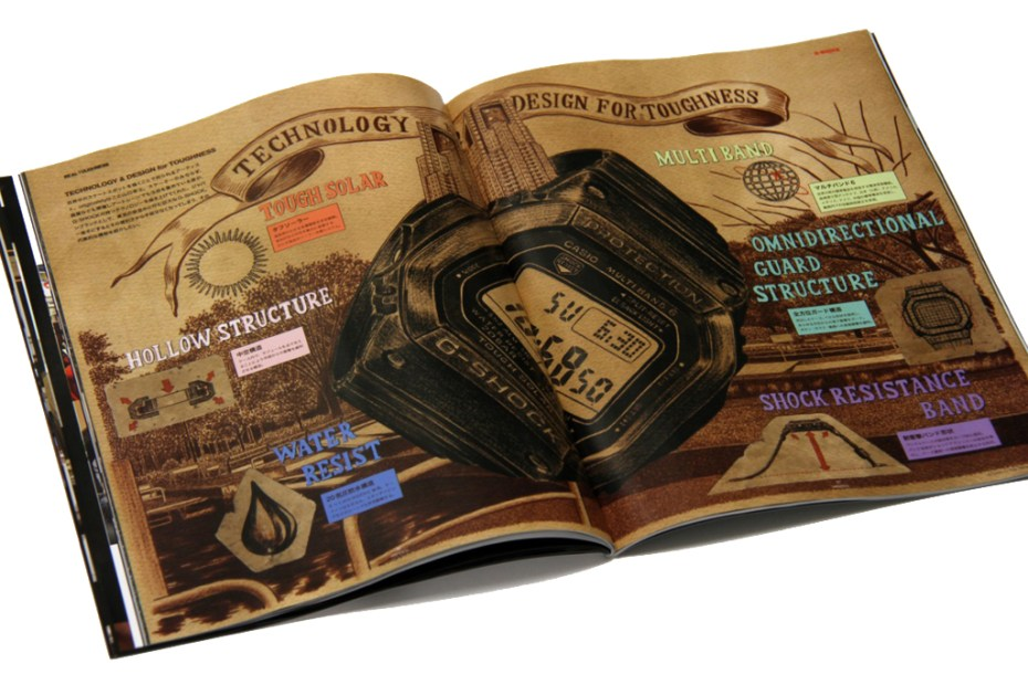 """Image of G-Shock x Hidden Champion """" REAL TOUGHNESS"""" Issue"""