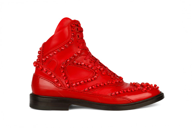 Image of Givenchy 2012 Fall Hightop Hybrid Shoe