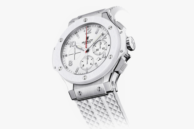Image of Hublot Big Bang Miami Heat 2012 Champion White Hot Edition