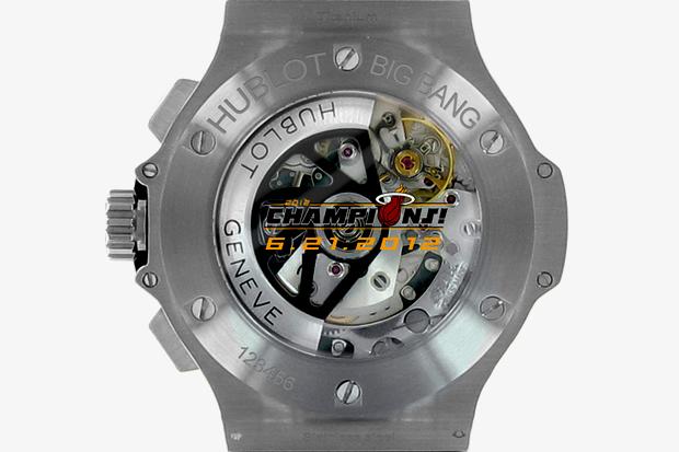 Image of Hublot Big Bang Miami Heat 2012 Champion White Hot Edition