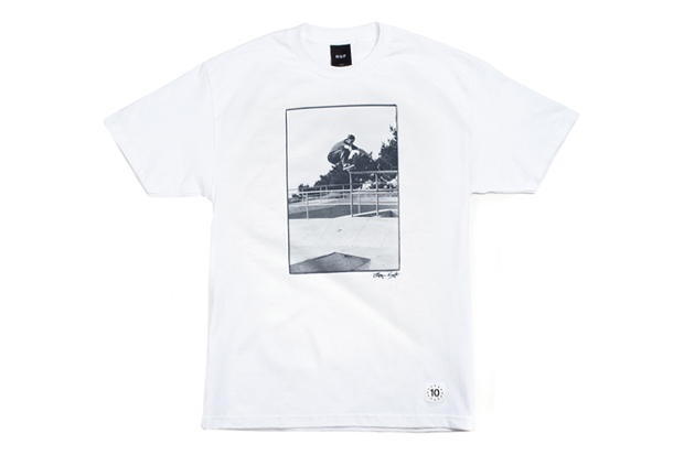 Image of Bryce Kanights x HUF 10th Anniversary T-shirt