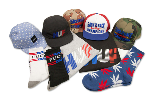 "Image of HUF 2012 ""Red White & Blue"" Pack"