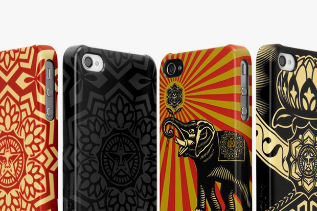 Image of Shepard Fairey x Incase iPhone Case Collection