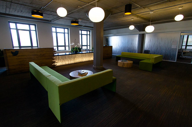Image of Inside Twitter's New San Francisco Headquarters
