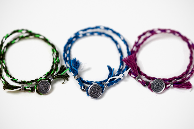 Image of Stussy × JAM HOME MADE Rope Bracelet