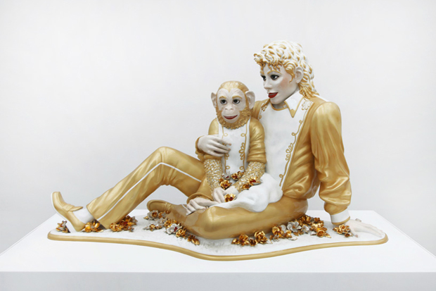 Image of Jeff Koons Exhibition @ Fondation Beyeler Further Look