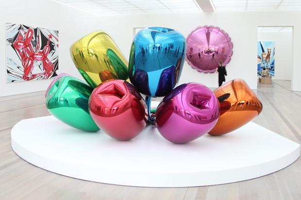 Image of Jeff Koons Exhibition @ Fondation Beyeler