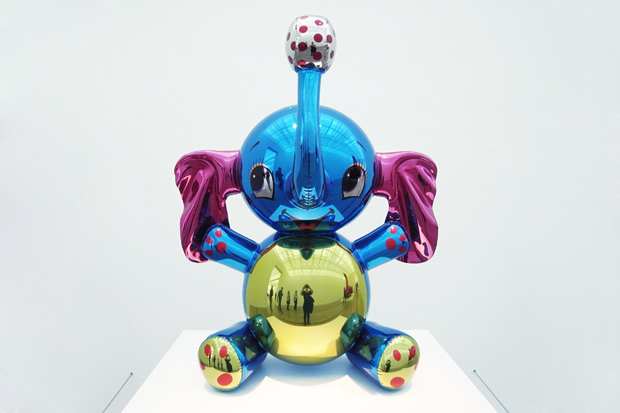 Image of Jeff Koons Exhibition @ Fondation Beyeler