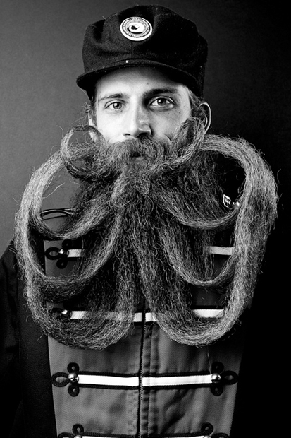 Image of Justin James Muir's Collection of the Most Noteworthy Beards