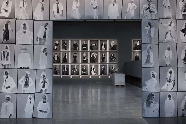 Image of Karl Lagerfeld and Carine Roitfeld Chanel's 'Little Black Jacket' Book