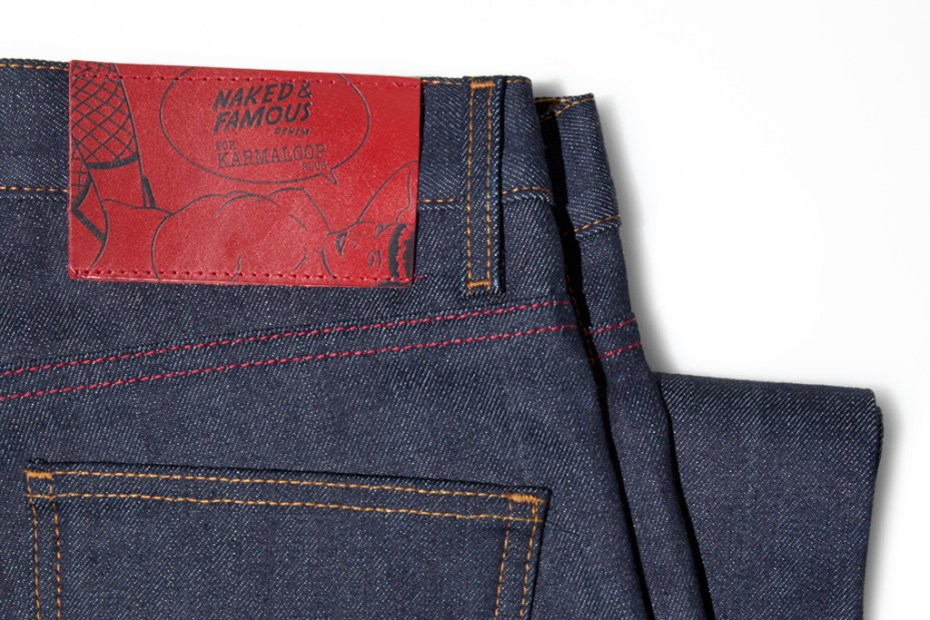 "Image of Karmaloop Plus x Naked & Famous ""Never Naked"" Denim"