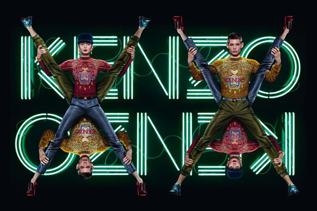 Image of Kenzo Enlists Jean-Paul Goude to Shoot Ad Campaign