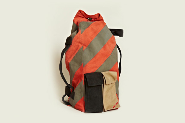 Image of Leh Oversized Leather Duffle Backpack