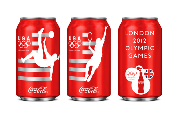 Image of Limited Edition Team USA Coca-Cola Design by Turner Duckworth