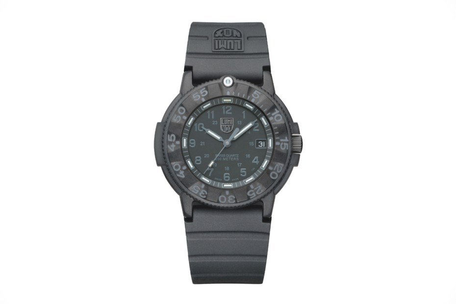 Image of Luminox Navy SEAL Blackout 3001 Watch