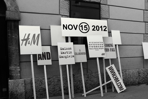 Image of Maison Martin Margiela x H&M 2012 Fall/Winter Collection Announcement