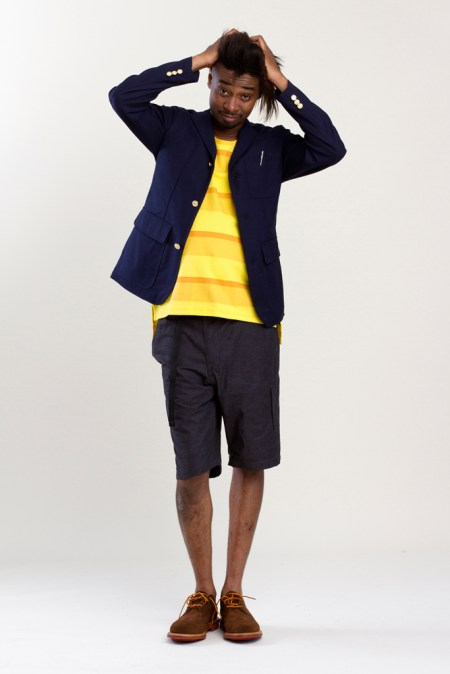 Image of Mark McNairy 2013 Spring/Summer Lookbook featuring Danny Brown
